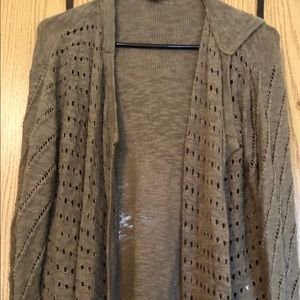 Roxy Sweater Coat, Small , gently worn